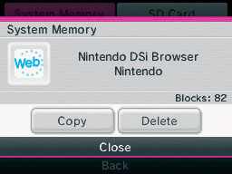 Data Management | Nintendo DSi (XL) | Support | Nintendo